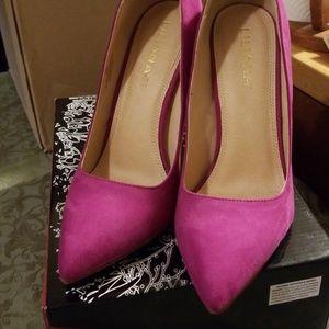 Liliana purple high heels